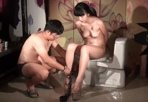 Gorgeous adult clamp Asian  exclusive..