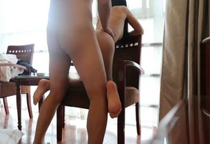 Fresh japanese naked model having..
