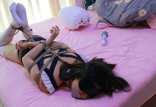 japanese youngster maid restrain bondage
