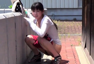 Asians piss in public and outdoors
