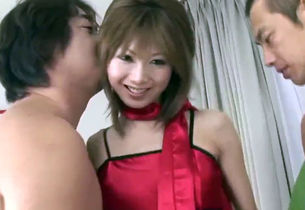 Gorgeous Asian group porno with thin..