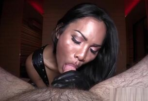 Meaningless ladyboy shemale fucks a..
