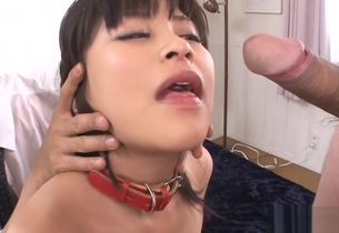 Japanese in upskirt gives anal..