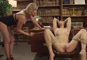 Cougar girl-on-girl schoolteacher..